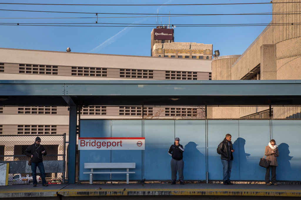 Many people who live in more affluent neighborhoods of Fairfield County commute through Bridgeport every day -- but are unaware of the town's plight.