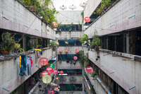 The Klong Toei slum is notorious for drugs and fires.
