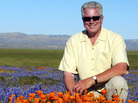 Seen here in 2005, Huell Howser was remembered by hundreds of fans on Tuesday.