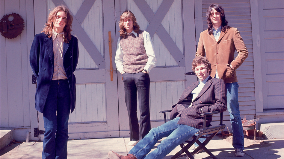Big Star's members pose in front of their barn. (Andy Modla)