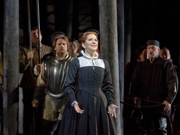 Mezzo-soprano Joyce DiDonato's performance at the Metropolitan Opera created a euphoric experience for at least one listener.