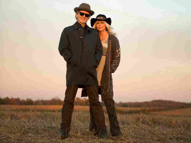Rodney Crowell and Emmylou Harris.