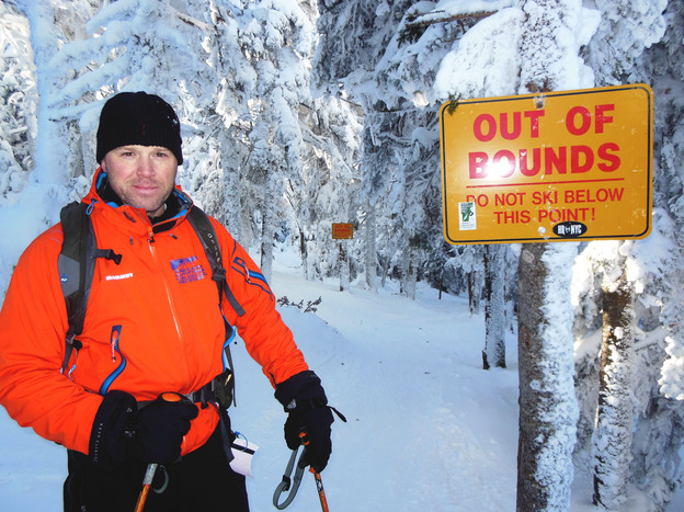 Robert Giolito, a former ski patrol member at Killington who is now a Vermont state trooper, heads a local volunteer search-and-rescue team.