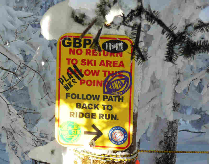Some states can bill skiers for search-and-rescue efforts. Often, those who need rescuing wandered into out-of-bounds areas and couldn't find their way back.