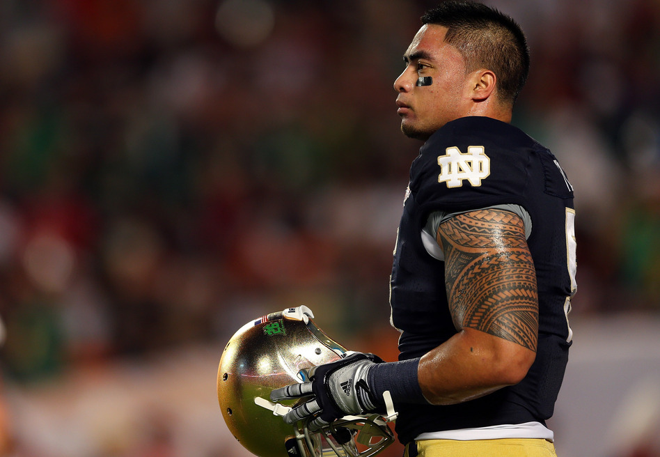 The sports website Deadspin says the story of Notre Dame linebacker Manti Te'o losing a girlfriend to leukemia is a hoax.
