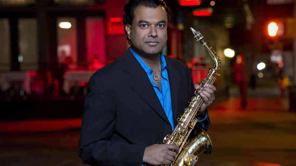Rudresh Mahanthappa's new album, Gamak, comes out Jan. 29.