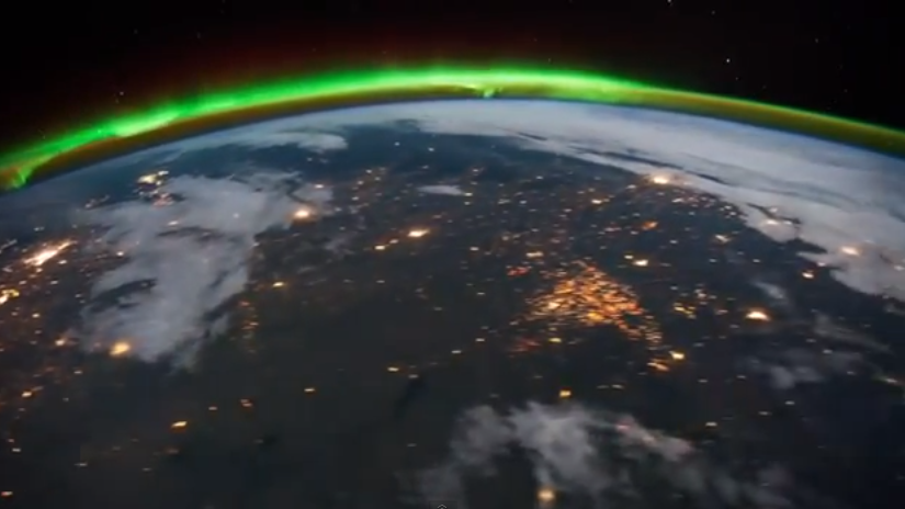 A Mysterious Patch Of Light Shows Up In The North Dakota