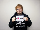 Ed Sheeran at NPR headquarters in Washington, D.C.