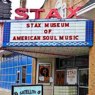 The Stax Records recording studio in Memphis, Tenn.