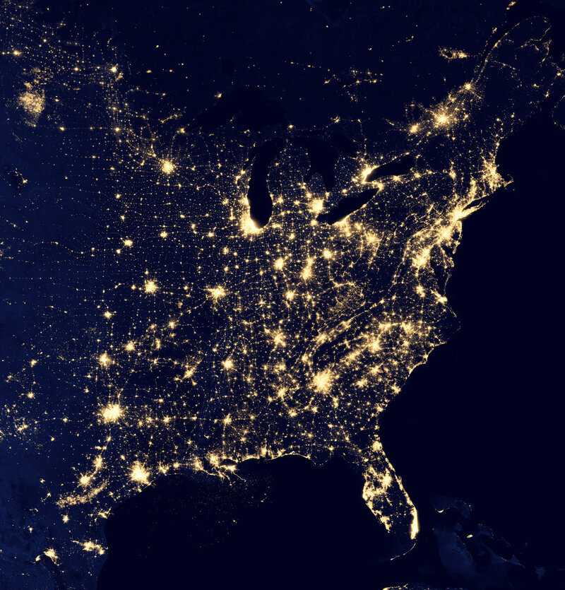 A Mysterious Patch Of Light Shows Up In The North Dakota Dark ...