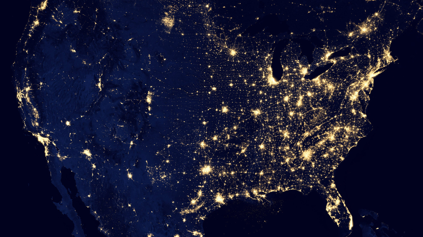 a mysterious patch of light shows up in the north dakota dark krulwich wonders npr