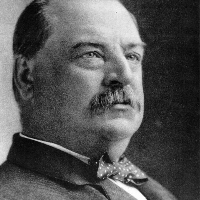 Grover Cleveland. Credit: National Archives, Getty Images.