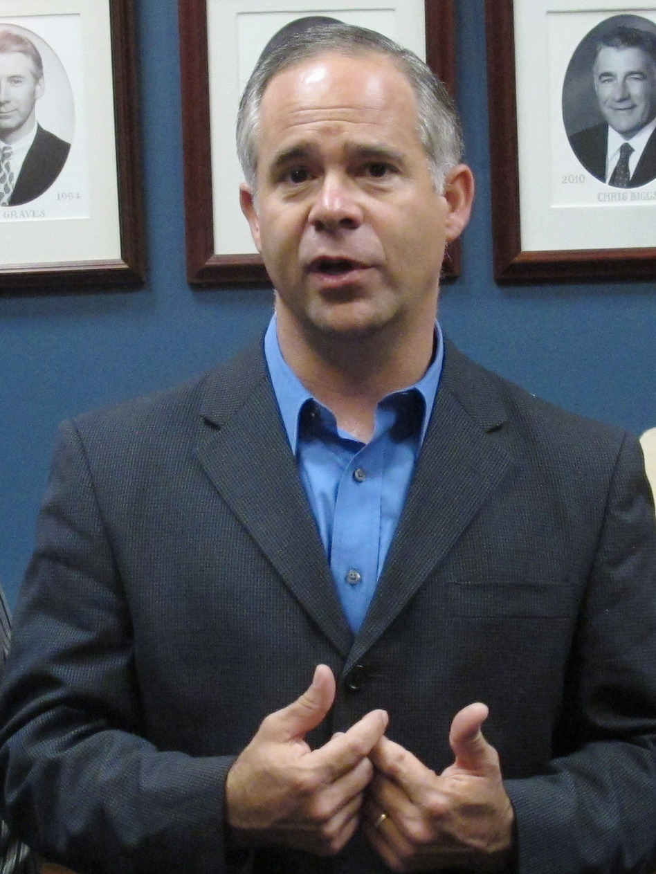 Republican Rep. Tim Huelskamp, shown in June 2012, says the U.S. won't default unless the president chooses to let it happen.