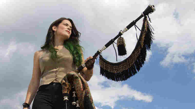 On the new album Migrations, Cristina Pato plays the gaita, a bagpipe from her native region of Galicia in northwest Spain.