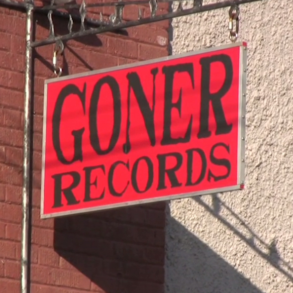 Lucero's Brian Venable brought David Dye and the World Cafe crew to Goner Records.