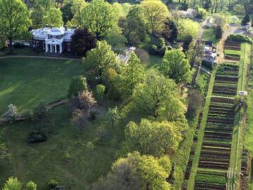 Monticello. Credit: Leonard Phillips/Thomas Jefferson Foundation at Monticello