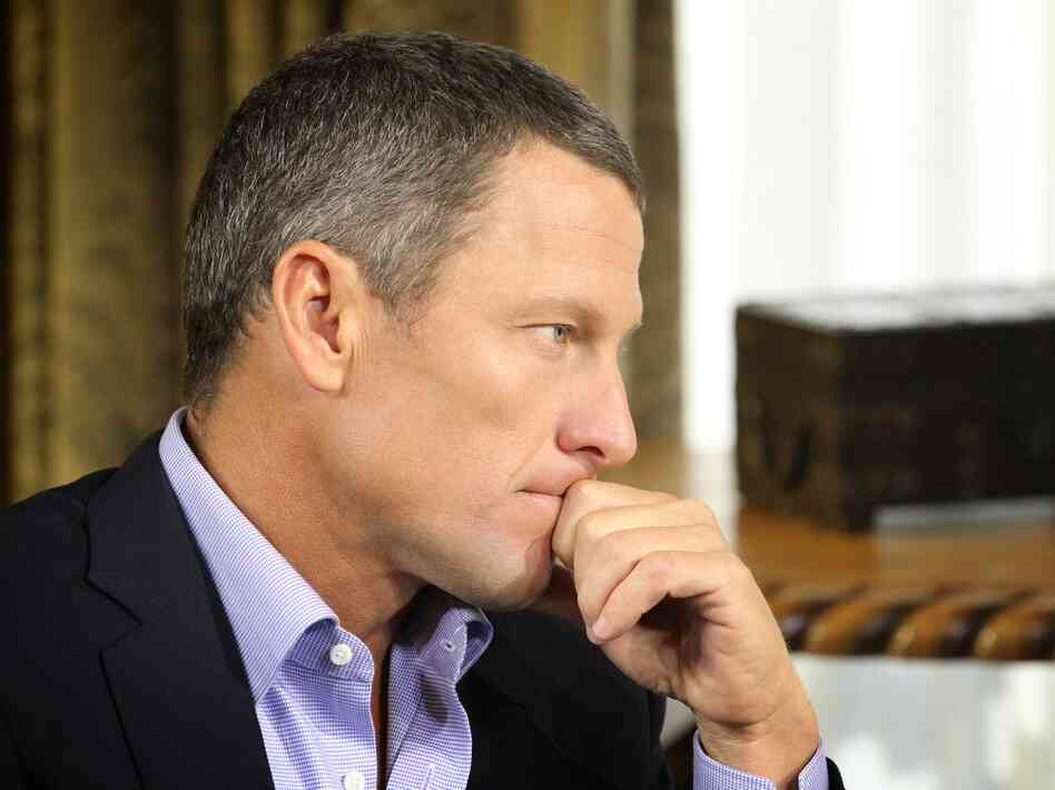 Lance Armstrong admits to Oprah Winfrey that he used performance-enhancing drugs. The first part of the interview aired Thursday night.