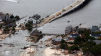 Much of the money from the Hurricane Sandy relief bill the House of Representatives passed will fund beach and infrastructure restoration projects in areas such as Mantoloking, N.J., seen on Oct. 31.