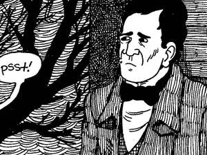 From The Hypo: The Melancholic Young Lincoln. Copyright 2012 by Noah Van Sciver. Courtesy Fantagraphics Books.
