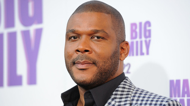 At Tyler Perry's live performances, his gospel-tinged references aren't meant for everyone in the audience. (Getty Images)