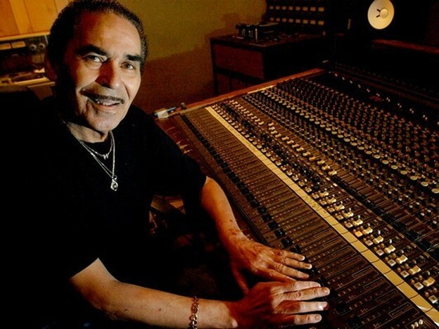 The late Willie Mitchell of Royal Studio in Memphis.