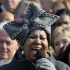 At the Jan. 20, 2009, inauguration of President Obama, Aretha Franklin's hat nearly stole the show. Her chapeau became a sensation, and made its creator, 36-year-old Luke Song, famous overnight.