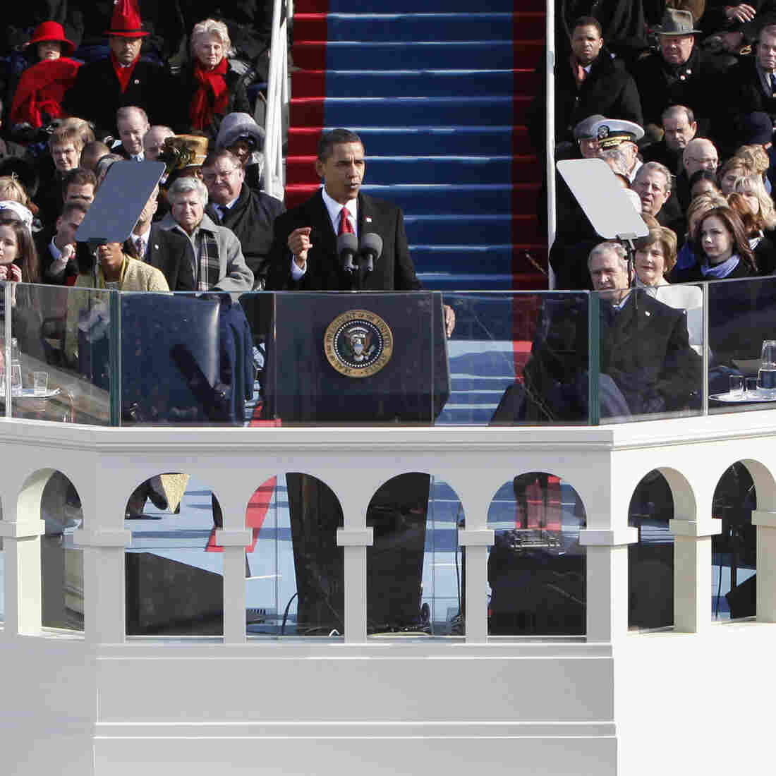 Speechwriters: After Bland First Inaugural, Second Is Tougher For Obama