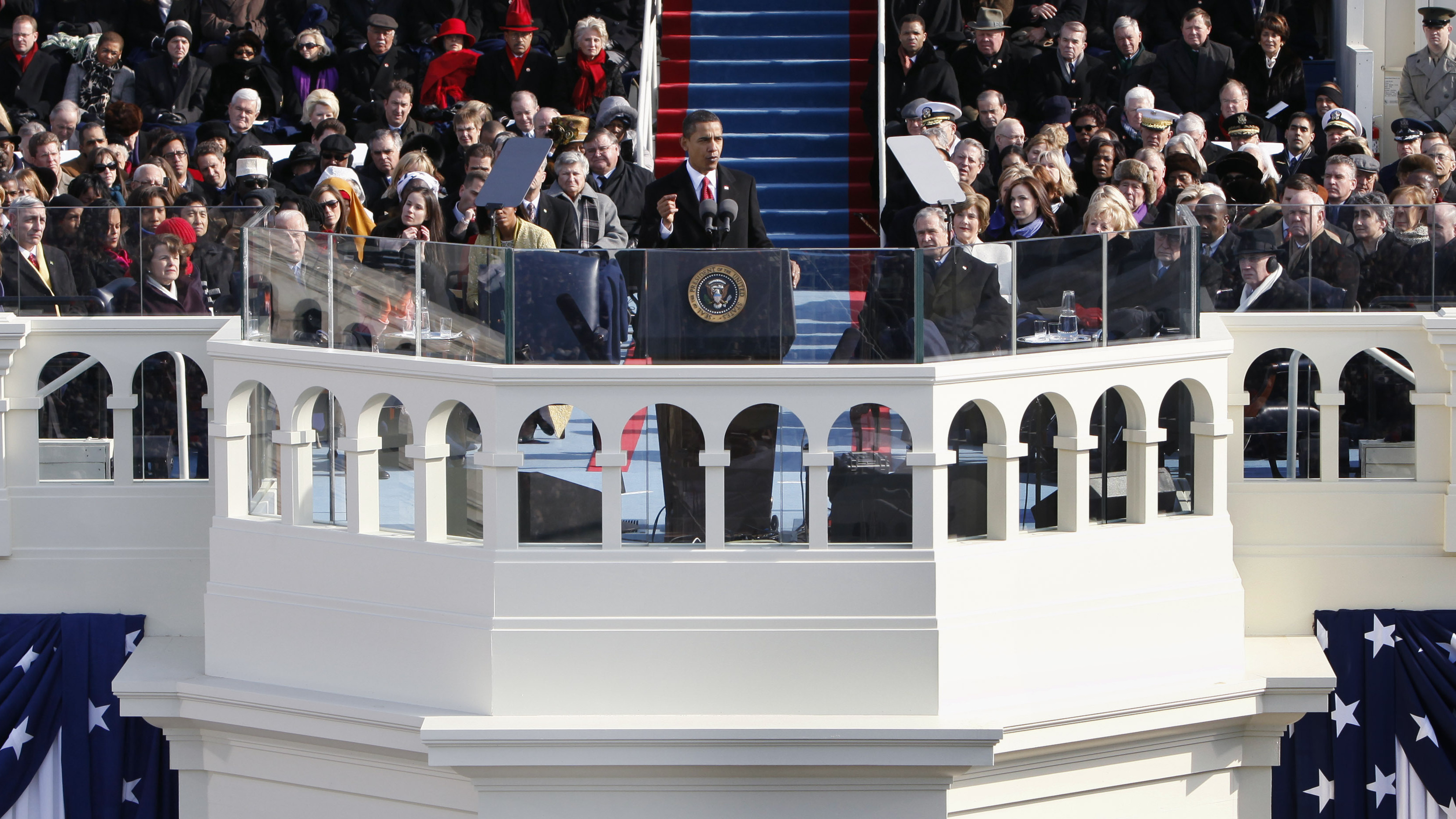Speechwriters after bland first inaugural second is for First president to be inaugurated on january 20