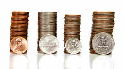 It costs more than a penny to make a penny, and more than a dime to make a nickel. Would it make better business sense to simply round up?