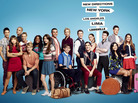 The cast of Glee, which is in its fourth season on Fox.