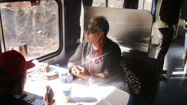 Chicagoan Janice Trice was an Obama volunteer in 2008 and 2012. Her husband died on Election Day in 2008, before he could celebrate Barack Obama's victory, or even find out that he won. She says this pilgrimage is a way for her to honor his memory. (NPR)