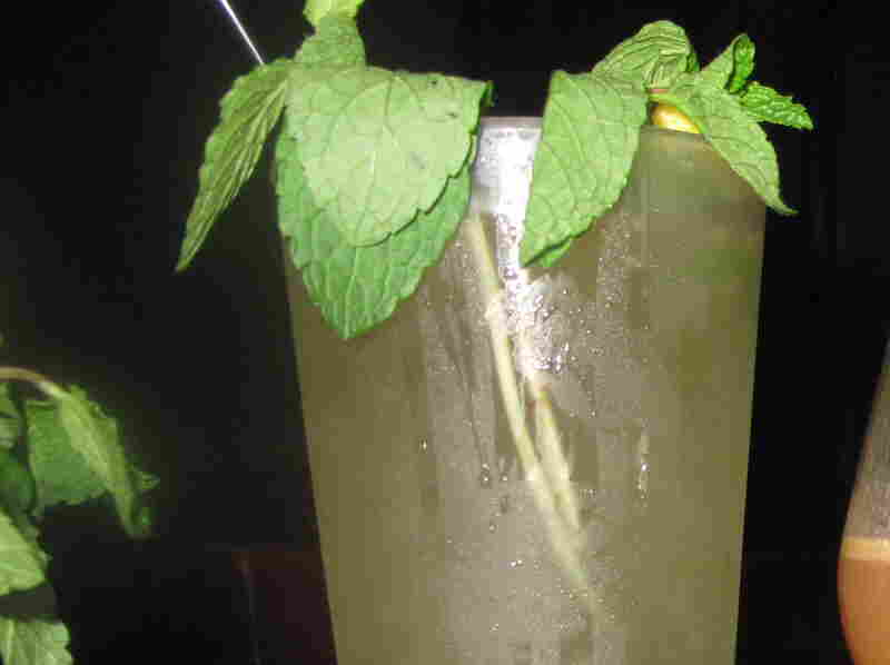 Southern Style Mint Julep, in honor of our tenth president John Tyler.