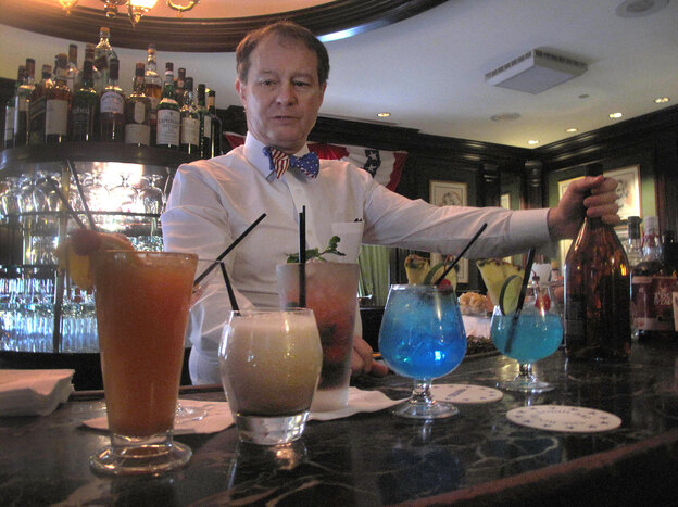 Washington, D.C., bartender Jim Hewes distills presidential history into cocktails.