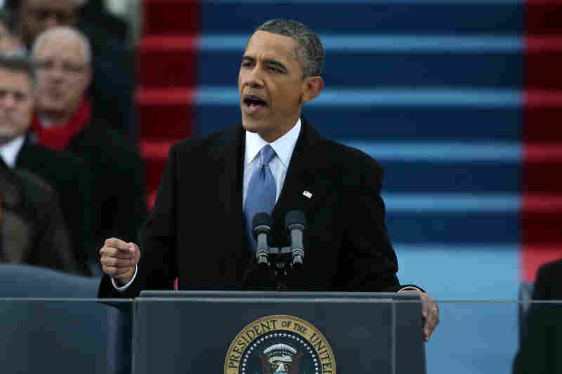 "Obama delivered a pragmatic inaugural speech that called for a ""new era of responsibility."""