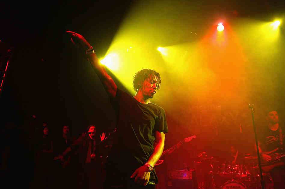 Recording Artist Lupe Fiasco performs in