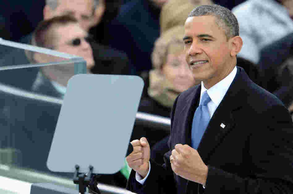 Inaugural Presidential Address Barack Hussein Obama