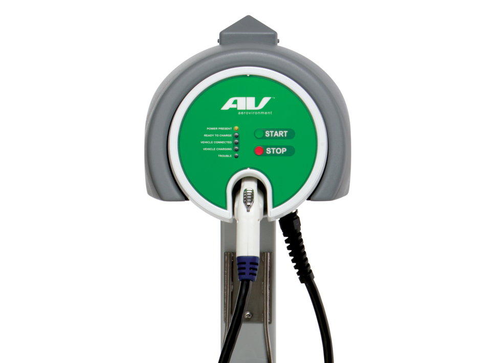 The future of AeroVironment's electric vehicle charger business  will depend on U.S. demand for electric cars. (Courtesy of AeroVironment Inc.)