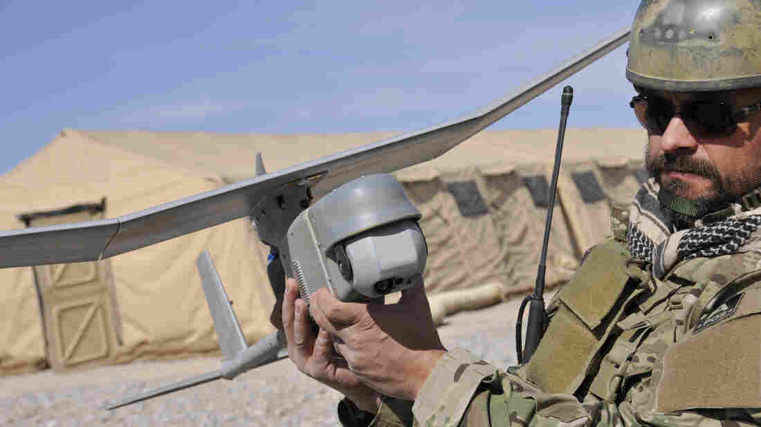 AeroVironment's Raven drone is used for military su