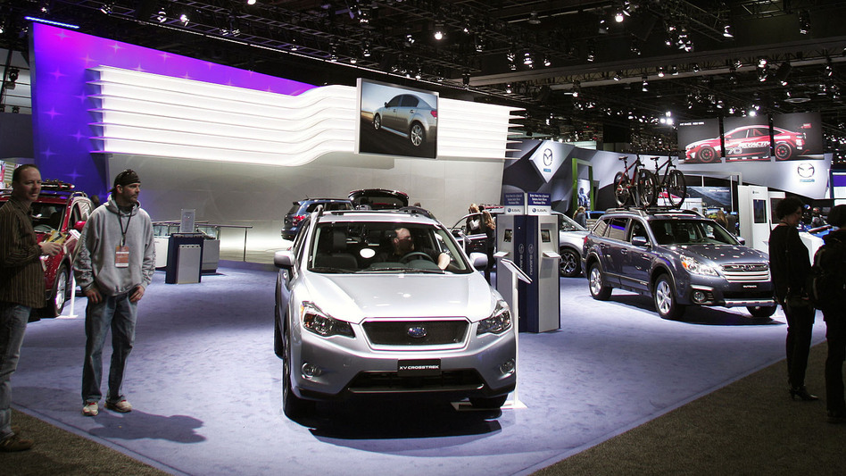 Subaru, known for its success in Denver, the Pacific Northwest and the Northeast, aims to expand its market to Texas and Tennessee.
