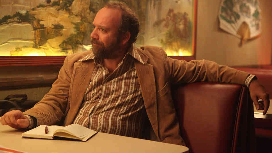 Journalist Arnie Blondestone (Paul Giamatti) interprets the bizarro story at the heart of the t