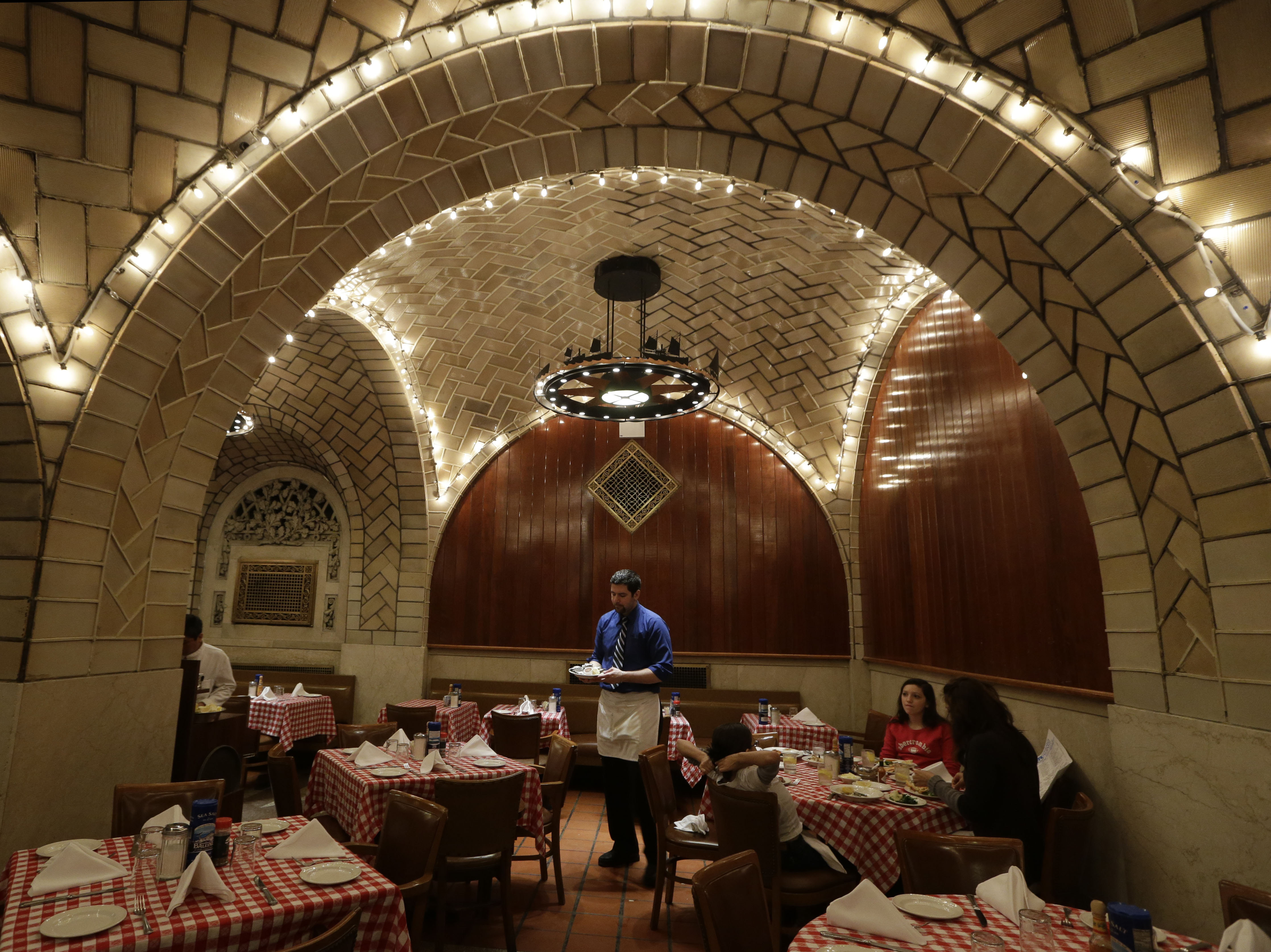 Grand Central's oldest tenant, the Oyster Bar, opened before the terminal was even completed.