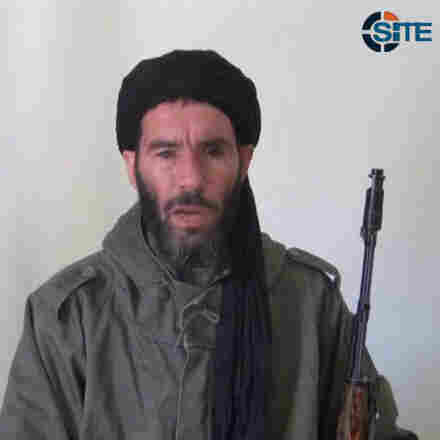 This image from video provided by the SITE Intel Group made available Jan. 17 purports to show militant militia leader Mokhtar Belmokhtar. He claimed responsibility in a video posted Monday for last week's deadly attack on a BP gas facility in Algeria.