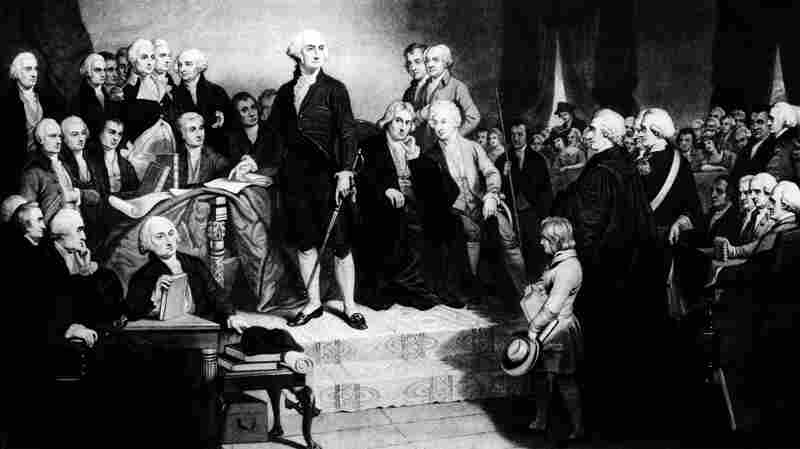 """George Washington referred to """"that Almighty Being"""" during his inaugural address in 1789. """"God"""" didn't show up in an inaugural speech until more than three decades later."""