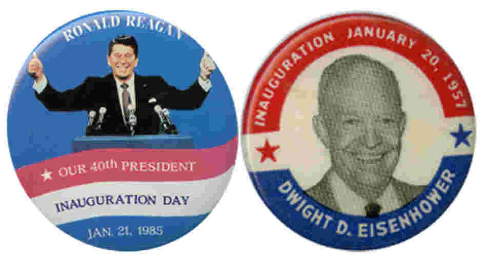 Reagan (1985) and Ike (1957) were the last presidents inaugurated on a Sunday.