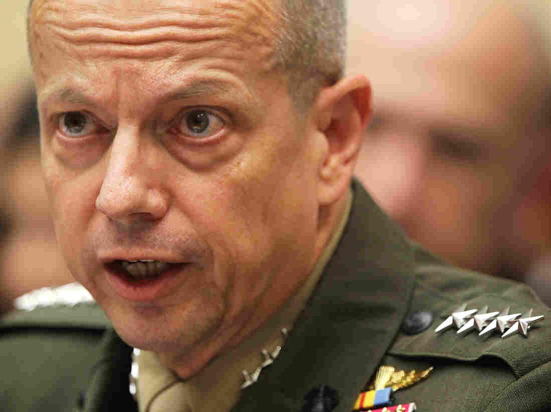 Marine Gen. John Allen.