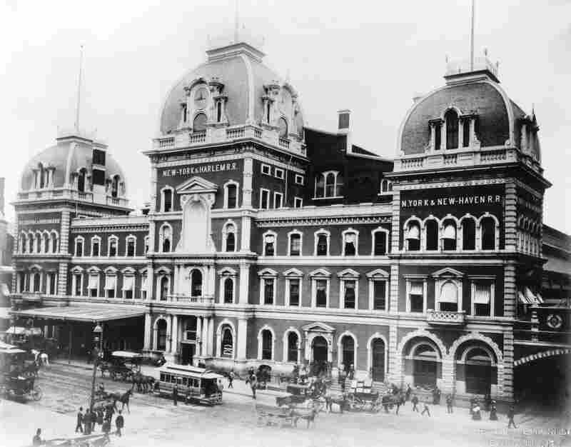 "Before Grand Central Terminal, there was Grand Central Depot, which The New York Times once complained ""can only by a stretch of courtesy be called either central or grand."" It was completed in 1871."