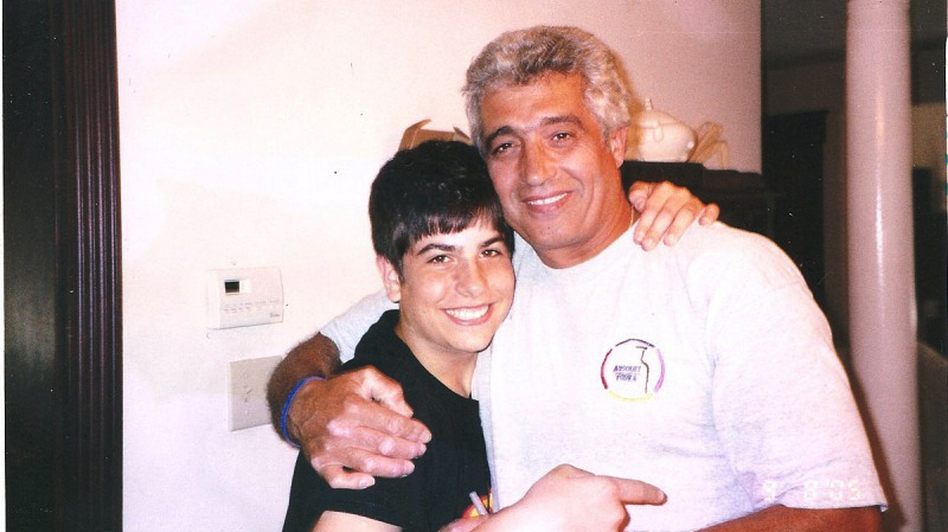 Michael Israel (shown here, left, with his father, Avi, in 2006) killed himself after becoming addicted to prescription painkillers. (Avi Israel)
