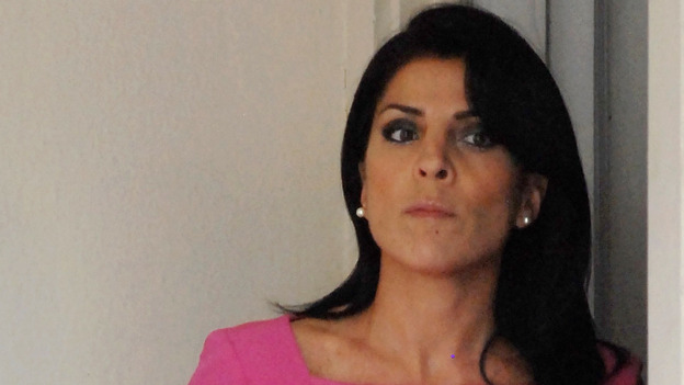 Jill Kelley outside her home in Tampa last November. (Getty Images)