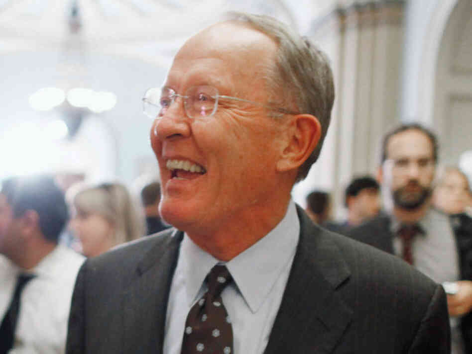 Republican Sen. Lamar Alexander of Ten