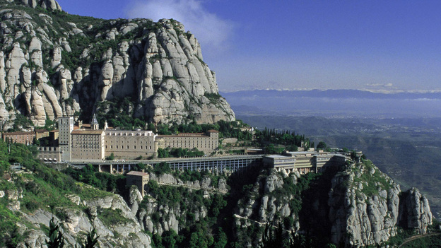 The mountainside Montserrat monastery, north of Barcelona, inspired Paul Moravec to write a cello concerto.